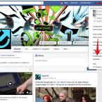 """Ruft die Facebook-Webseite auf eurem Desktop-PC im Webbrowser auf. Klickt oben rechts auf das kleine Dreieck und anschließend im Menü auf """"Einstellungen""""."""