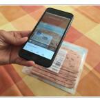 Scannt den Barcode auf der Verpackung eures Lebensmittels mithilfe der Scanfunktion der Anwendung ein.