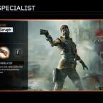 Seraph<br> Waffe: Annihilator - Revolver mit durschlagender Wirkung<br> Spezialfähigkeit: Combat Focus - Mulitplikator für Streaks