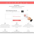 """Wählt jetzt die Datei aus, indem ihr auf """"Datei auswählen"""" klickt oder das Dokument wieder per Drag-and-drop im Feld """"PDF hier reinschmeissen"""" ablegt. Der Prozess startet sofort."""