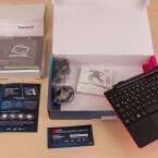 """Der Lieferumfang fällt normal aus. Bis auf die Gutscheine unterscheidet er sich nicht vom """"normalen"""" Acer Aspire Switch 10 E."""