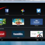 """Um nach einer Android-App zu suchen, klickt ihr oben links auf den Button """"Suche""""."""
