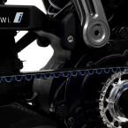 Der Mittelmotor von Bosch kann frei mitschwingen.