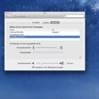 Nach der Installation von Audacity und Soundflower ruft man die Registerkarte Ton auf.
