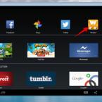 Die installierte App findet ihr auf dem Homescreen. Ein Klick auf das Icon der Anwendung startet diese.