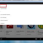 Jetzt öffnet sich der Play Store, und ihr könnt wie gewohnt über die Suchleiste am oberen Bildschirmrand nach Anwendungen suchen.