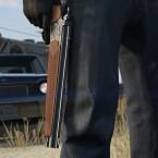 Präzisionspistole mit Einzelschuss