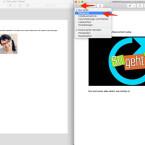 """Beide PDF-Dokumente müssen über die Vorschau geöffnet sein. Anschließend müsst ihr in den beiden Dokumenten jeweils die Miniaturansicht öffnen. Dafür klickt ihr ganz links auf das Menü-Icon und wählt im Untermenü den Punkt """"Miniaturen""""."""