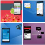 Das BlackBerry Venice wird dem Bild zufolge mit Android 5.1 Lollipop laufen und Zugriff auf den Google Play Store bieten. Nutzer können Inhalte von älteren Geräten übernehmen und Multimedia-Inhalte offenbar vom Smartphone auf Tablet, Laptop und Fernseher streamen.