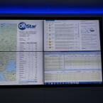 Auf dem Kontrollmonitor laufen viele Daten zusammen. Unter anderem auch die Zahl der getätigten Anrufe. Noch befindet sich das System im Testdurchlauf.