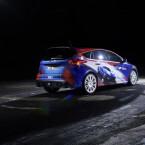 Ford brachte diesen optisch angeschärften Focus RS mit auf...