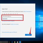 """Gebt jetzt die Daten für euer Microsoft-Konto bestehend aus E-Mail-Adresse und Kennwort ein und klickt anschließend auf den Button """"Anmelden""""."""