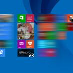 """Gebt in das Suchfeld von Windows 8 """"Task-Manager"""" mit eurer Tastatur ein. Beim ersten Tastenanschlag startet die Suchfunktion automatisch. Ihr könnt die Suchfunktion natürlich auch über das Lupen-Symbol hinter dem Eingabefeld starten. Klickt unterhalb des Suchfelds bei Windows 8 den Eintrag """"Task-Manager"""" an."""