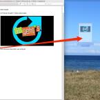 Möchtet ihr aus einer Seite einer mehrseitigen PDF-Datei ein einzelnes Dokument machen, ist das ebenfalls ganz einfach. Ihr schnappt euch die gewünschte Seite per Drag-and-drop und zieht diese einfach auf den Schreibtisch (Desktop).