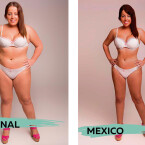 Die Mexikaner mögen ähnlich wie die Ägypter, eine schmale Taille und breite Hüften.