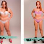 In den Niederlanden sind rote Haare, dunkle Stiefel und lilafarbene Bikinis voll im Trend.