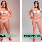 Das Schönheitsideal in den Philippinen.