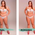 Rumänische Frauen haben weibliche Formen, ordentlich Oberweite und einen kleinen Kopf.