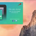 Den Verbindungsassistenten auf dem Mac könnt ihr jetzt schließen.
