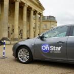 Unsere Testfahrten fanden im Opel Insignia statt. Nach und nach werden alle Opel-Modelle mit dem OnStar-System ausgestattet.