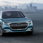 Der auf der IAA vorgestellte Audi e-tron quattro concept kann ...