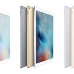 Das iPad Pro kommt in drei Farben in den Handel.