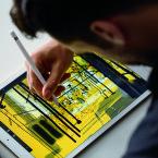 Der Stift soll vor allem Grafikern zugute kommen. Aber auch Microsoft Office ist für den Einsatz mit Stift auf dem iPad Pro ausgelegt.