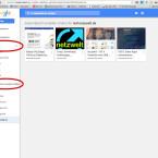 Am linken Bildschirmrand greift ihr auf eure eigenen Ordner oder die automatisch angelegten Verzeichnisse zu.