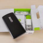 Das Gehäuse des Motorola Moto X Play besteht aus Kunststoff.