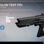 Omolon Test FR1 - Fusionsgewehr