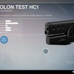 Omolon Test HC1 - Handfeuerwaffe