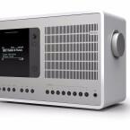 Revo SuperConnect: Edles Design aus dem schottischen Lanark - für Internet und DLNA, UKW und Bluetooth sowie Spotify. Das Modell gibt es auch in Schwarz und Walnuss. AUX-In, Kopfhörer-Ausgang und Weckzeiten sind vorhanden, mit komfotablen 8 Stationstasten. Preis circa 370 Euro