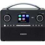 Roberts Stream93i: Dieses Stereoradio mit Subwoofer im Boden ermöglicht Internetradio/UPnP- Mediastreaming und DAB+ / UKW RDS sowie USB. Angeblich sehr guter Klang. Bietet zahlreiche Anschlüsse, Weckzeiten und kommt inklusive Fernbedienung. Preis circa 350 Euro
