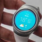 Die Samsung Gear S2 bietet ein rundes Display.