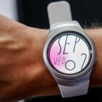 Die Gear S2 bietet über 26 verschiedene Watchfaces zur Auswahl.