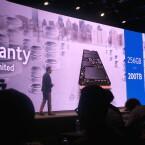 Samsung gibt seinen Kunden 5 Jahre Garantie an die Hand.