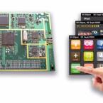 Touch-Screen-Modul: Venice 8 von Silicon Frontier offeriert neben allen Radio- und Internetfeatures auch eine Touch-Screen-Funktion bei einer Baugröße von lediglich 65 x 80 mm