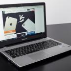 Das Medion Akoya E6418 verfügt unter anderem über ein mattes Display. Dies ermöglicht ...