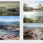 ...mit verschiedenen Landschaften,...