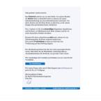 Aktuell in großer Zahl sind diese gefälschten E-Mails im Umlauf. Durch die Einführung eines neuen Sicherheitssystems ist die Bestätigung eurer Daten notwendig. Doch der Link in der E-Mail führt euch nicht zu PayPal, sondern zu einer gefälschten Webseite. Da der Empfänger mit vollständigen Namen angesprochen wird und auch sonst keine gravierenden Fehler in der Nachricht zu finden sind, verrät nur der Link die Fälschung.