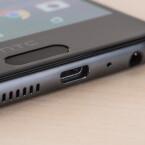 Unter dem Display bietet das HTC One A9 einen Fingerabdruckscanner.