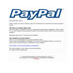 """Euer PayPal-Account ist angeblich gesperrt und ihr könnt diesen mit einem Klick auf den Link wieder entsperren. Leider fallen auf die Fälschung immer wieder Kunden herein, da die E-Mail eine persönliche Ansprache enthält. Klickt den Link nicht an. Auf die Fälschung weist nicht nur das schlecht gefälschte PayPal-Logo in XXL-Größe hin, sondern auch ein Schreibfehler im Betreff """" Ihr PayPal-Konto wurd eingeschränkt""""."""