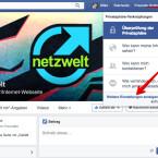 """Ruft die Facebook-Webseite am Computer auf und meldet euch an. Klickt dann in der blauen Leiste oben rechts auf das Icon mit dem Schloss. Im Menü wählt ihr """"Weitere Einstellungen anzeigen"""" aus."""