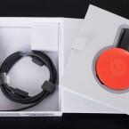 Beim Stick selbst nicht: Chromecast ist jetzt kreisrund ...