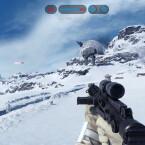 Als Stormtrooper kein Problem, als Rebell besser nicht zu nahe kommen. Es besteht die Gfahr geplättet zu werden.