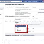 """Über das Auswahlfeld legt ihr fest, ob anhand eurer E-Mail-Adresse alle Nutzer, nur eure Freunde oder auch deren Freunde euch über die interne Suche von Facebook finden können. Klickt die entsprechende Option an und abschließend auf """"Schießen""""."""