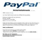 """Alter Trick in neuem Outfit. Angeblich hat jemand über euer PayPal-Konto eingekauft. Die Onlineshops in der E-Mail mit dem Betreff """"Auffällige Transaktion von Ihrem PayPal-Konto"""" wechseln ständig. In diesem Beispiel ist es Zalando. Folgt dem Link zur Verifizierung nicht."""