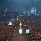 Beeindruckende Live-Bilder sorgen für das richtige Rockstar-Gefühl.