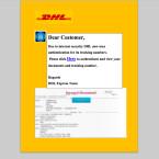 Auch in englischer Sprache versuchen die Fälscher ahnungslose Empfänger aufs Kreuz zu legen. Per E-Mail wird eine PDF-Datei mit dem hier abgebildeten Inhalt übermittelt. Wer den Link anklickt gelangt erneut auf eine gefälschte Webseite. Ihr solltet diese E-Mail sofort löschen.