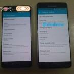 In den Einstellungen weisensich die beiden abgebildeten Samsung-Smartphones als Galaxy A3 (2015) und Galaxy A5 (2015) aus.